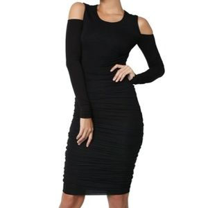 Bailey 44 Black Zaha Midi Dress
